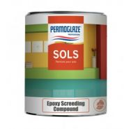 Permoglaze Epoxy Screeding Compound - Peinture de sol - SOFAP - Logement 20 l