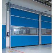 Porte rapide 4015 SEL / souple / à enroulement / en plastique / utilisation intérieure / 4000 x 4000 mm