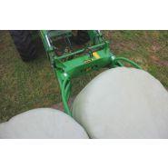 Cxr softhands - pince à balles - hustler equipment - poids total par balle : jusqu'à 1 tonne - poids total de la pince : 150 kg