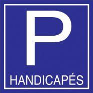 PPCH - Panneau place handicapé - Panneaux signaletiques - Format 500x500mm