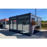 Container maritime modifié / aménagé / bureau accueil / boutique / commerce
