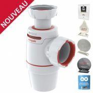 NEO AIR - Siphon d'évier - Wirquin Plastiques -  Réglable en hauteur de 145 à 205 mm