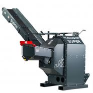 Combiné à bois de chauffage Super - Pilkemaster - Longueur du bois max 50 cm - Diamètre max de billot 19 cm