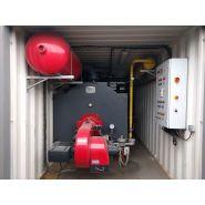A louer : chaudière mixte containérisée : eau chaude jusqu'à 100°c | c-2300 kw