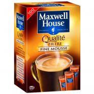 CAFÉ SOLUBLE FINE MOUSSE X100 STICKS 180G - MAXWELL HOUSE