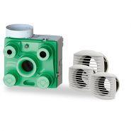 SIMPLE FLUX FACIL'AIR HYGRO - VMC Ventilation mécanique contrôlée - Dmo - Taille (LXLXH) 330 x 320 x 250 mm
