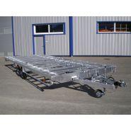 (b16) châssis tiny house - châssis de remorque - jp construction - ptac 3500 kg