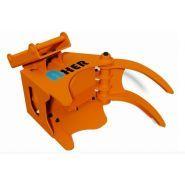 Grappin coupeur forestier Axer 230 K - Axer - Diamètre de coupe max 250 mm - Ouverture max 650 mm