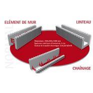 BLOC DE COFFRAGE ISOLANT - GAMME NORMAL