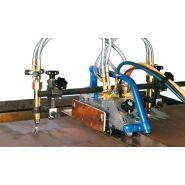 Secator - Machines d'oxycoupage portable - Messer - Chalumeau pour coupe jusqu'à 100 mm d'épaisseur en standard