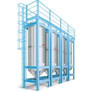 SS - Silos pour le stockage à l'intérieur - Moretto - Capacité de 1.800 à 19.200 dm³