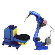 Positionneur de soudure - chengdu crp automatic control technology co., ltd - lourd de type l à 2 axes
