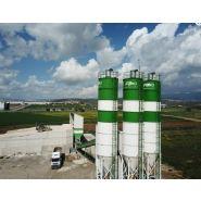 Silos de ciment - Fabo - Capacité de stockage de 30 à 120 tonnes