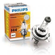 PHILIPS VISION +30% H4 12V 60/55W P43T