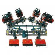 Modèle FP - FPA - FPXA Bineuse multi-fraises - Terrateck - Puissance 40 CV à 80 CV.