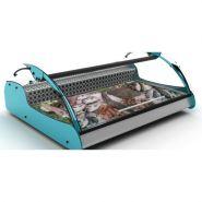 Présentoir et vitrine réfrigéré pour poisson avec capacité 2 gn 1/1 - synergies