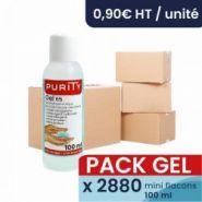 Gels hydroalcooliques - Purity - Pack de 2880x flacons