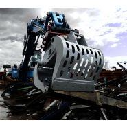 Hd /  drg-14 -  pince de tri 860 kg