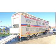 Remorque bétaillère - Özsan - poids 15500 kg
