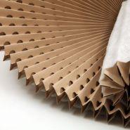 Filtre carton plissé accordéon avec média polyester