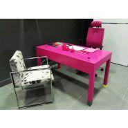 Bureaux domestiques - Les pieds sur la table - Dimensions L120 P70 H75cm