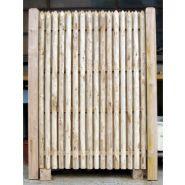 Jointive double face - Clôtures en bois - Leneindre - ht 1 à 2 m