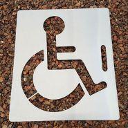 2280042 - Pochoir handicapé - Handi Norme - 60 CM