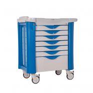 chariot de medicament - Chariot médical - Mespa Healthcare - Profondeur : 585 mm
