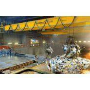 Pont roulant process - demag - pour les matériaux en vrac et le recyclage