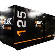 Groupe électrogène outdoor - 125yc - 125 kva rental