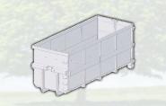 Bennes à déchets grands volumes ouverte 30m3 renforcée