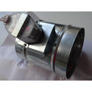 Registre de ventilation motorisé (moteur avec ressort de rappel) -série rmr