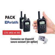 Pack ppms-4 : equipement radio lte et dispositif d'alerte multi-sites (ppms)