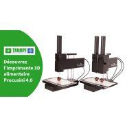 Procusini 4.0 - Imprimante alimentaire - Trumpf & Fils