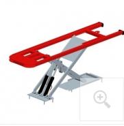 Ponts élévateurs pour véhicules légers - x-one table seule