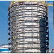 Échafaudage de chantier BRIO - Ulma (SARL) - Large espace de travail