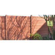 Clôtures en béton betoplanche - dbv - poids 62 kg