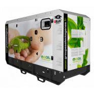 Groupe électrogène à l'huile végétale
