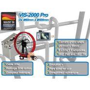 Caméra d'inspection sur dévidoir vis-2000 pro
