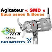 Grundfos smd -  agitateur et  accélérateur submersible pour eaux usées et boues