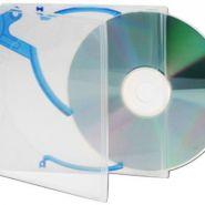 BOITIER CD/DVD EJECTOR E-SLIMCASE TRANSPARENT / BLEU - REF: 324-03084
