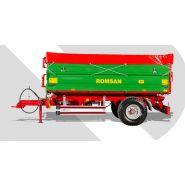 R 50 TSGA Benne agricole à simple essieu - Romsan - Capacité 5000 kg