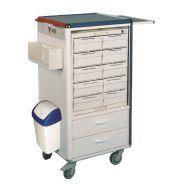 CARRYDOSE KI - Chariot médical - KRZ - Configurable de 12 à 60 tiroirs