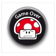 BADGE CHAMPI GAME OVER