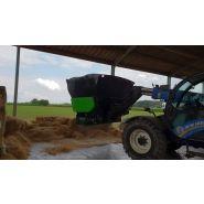 Bedding Master XL Pailleuse agricole - Juraccessoire - pour télescopique