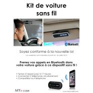 KIT DE VOITURE SANS FIL BLUETOOTH