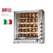 Rôtissoire électrique à broche 30 poulets