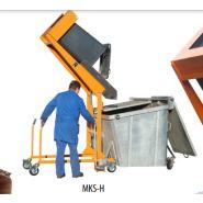 Type MKS - Basculeurs/élévateurs mobile de poubelles - BAUER GMBH - Déversement 120 et 240 L