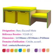 BANC D'ACCEUIL COSTY