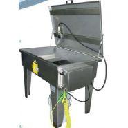 Fontaine de degraissage pneumatique avec solvant ou lessivielle charge 200 kg